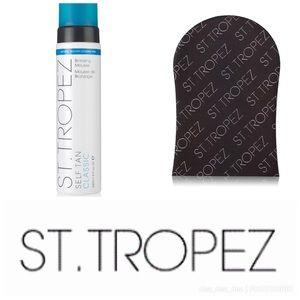 St Tropez self tanner bundle kit